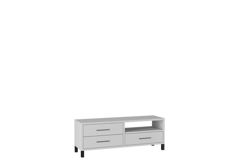 TV stolek Romi - světle šedá