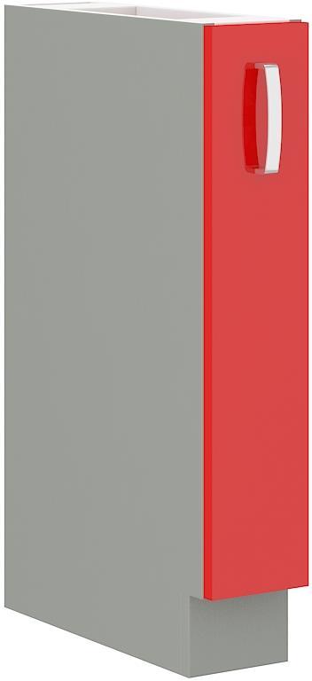 Dolní skříňka Rose 34 bez pracovní desky (15 cm) výsuvná