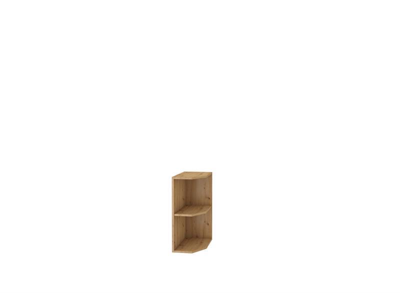 Dolní rohová polička Moderna 27 (30 cm)
