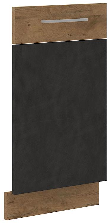 Dvířka na myčku Viktorie grafit mat 33 - ZM 713 x 446