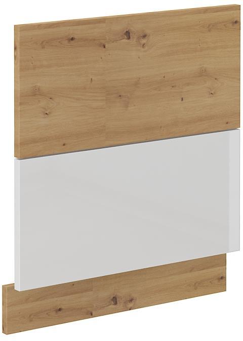 Dvířka na myčku Arisa 33 (570 x 596 mm) bílý lesk