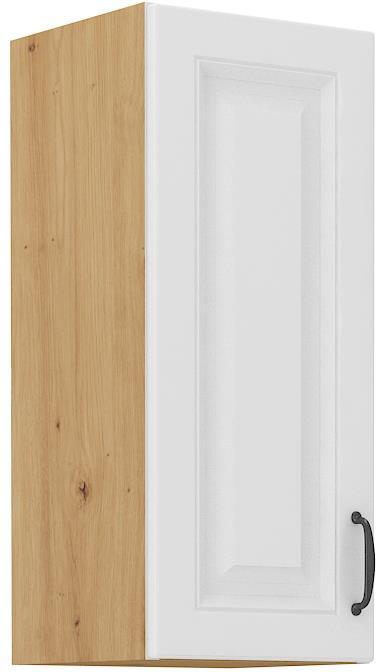 Horní skříňka Stella 18 (30 / 72 cm) bílý mat