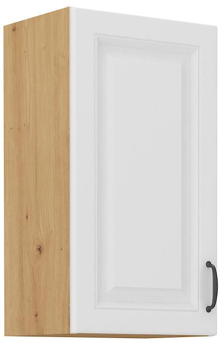 Horní skříňka Stella 16 (40 / 72 cm) bílý mat
