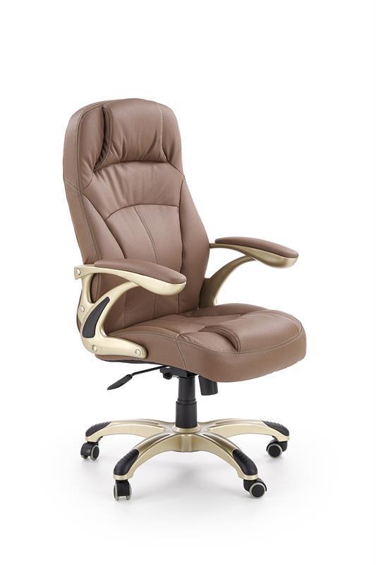 Kancelářská židle Carlos- světle hnědá