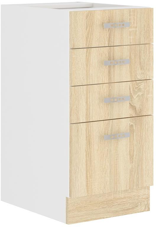 Dolní skříňka Klára 4 (40 cm) bez pracovní desky