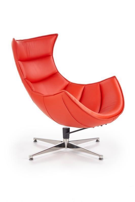 Odpočinkové křeslo Luxa - červené