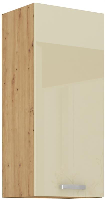Horní skříňka Arisa 25 (40 / 90 cm) krémový lesk