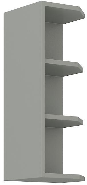 Horní rohová polička Eva 17 (30 cm)