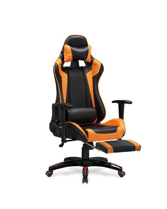 Kancelářská židle Defender 2 černo-oranžová