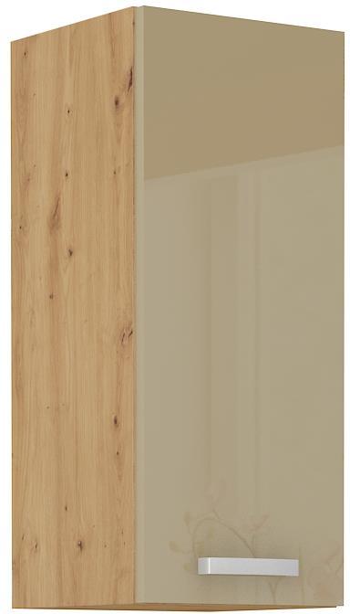 Horní skříňka Arisa 19 (30 / 72 cm) cappucino lesk