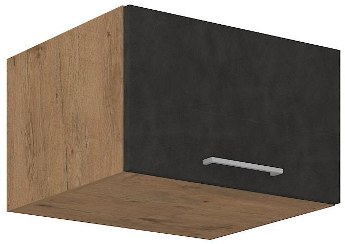 Horní skříňka Viktorie grafit mat 19 (60 cm)