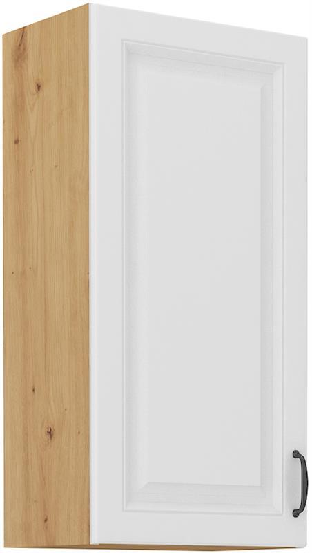 Horní skříňka Stella 43 (40 / 90 cm) bílý mat