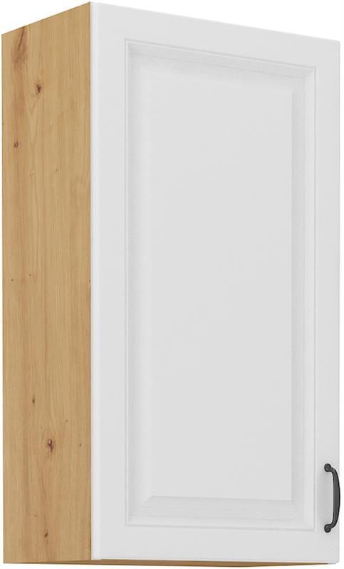 Horní skříňka Stella 42 (45 / 90 cm) bílý mat