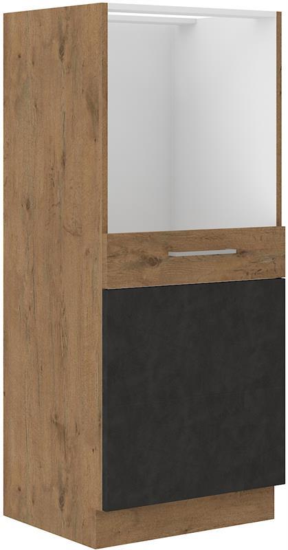Skříňka Viktorie grafit mat 44 (60 cm) bez pracovní desky