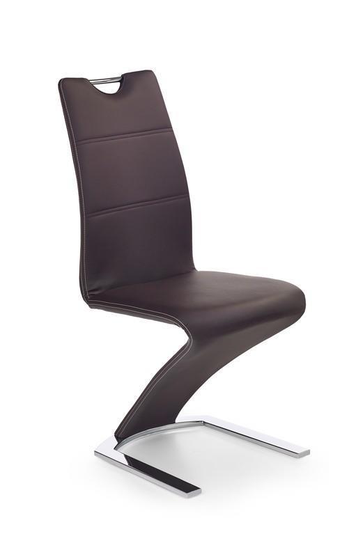 Židle K188 hnědá