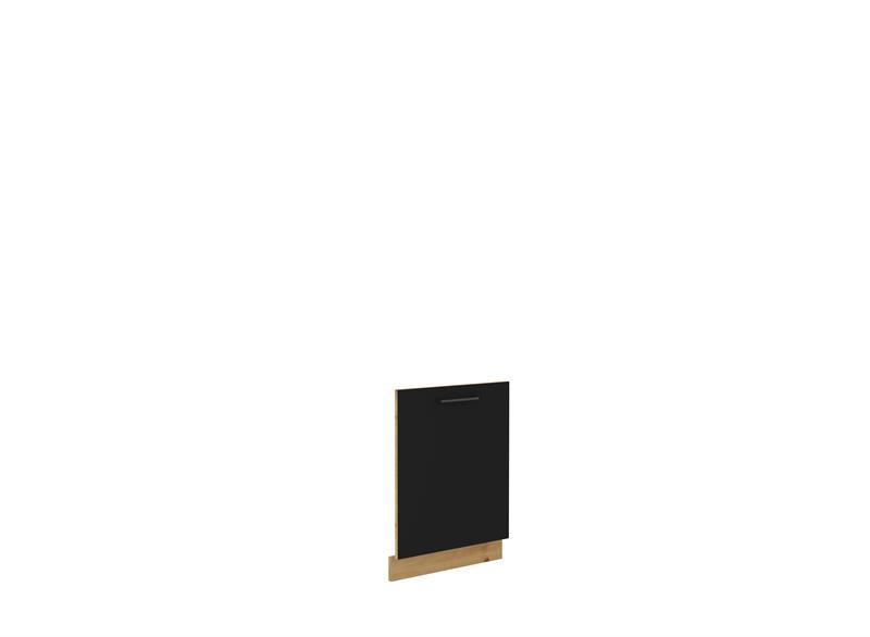 Dvířka na myčku Moderna 21 (713 x 596 cm) černý mat