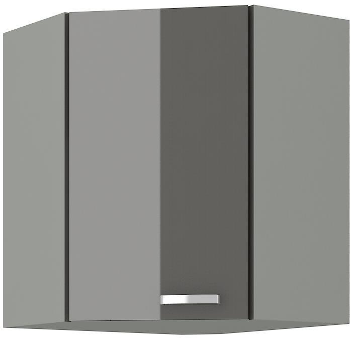 Horní skříňka rohová Gary 15 (58 x 58 cm)