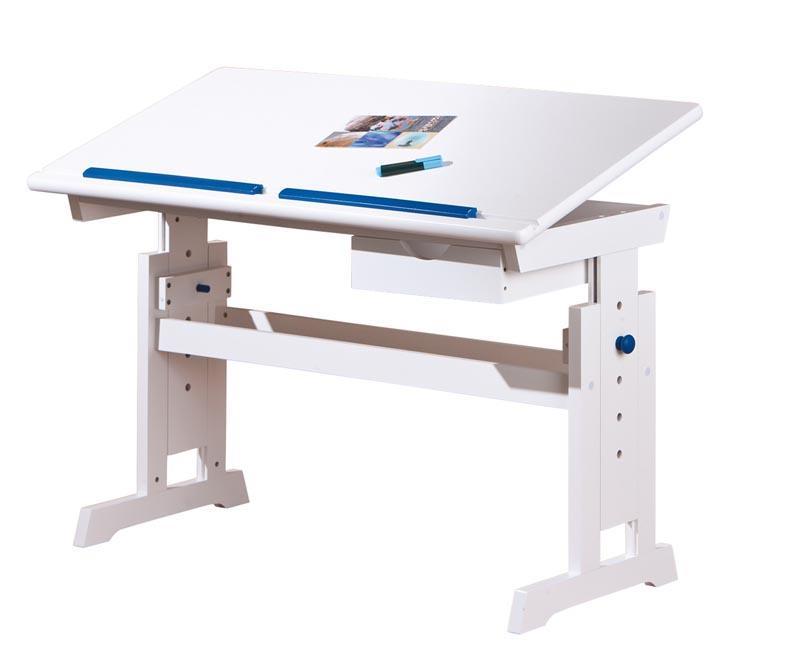 Psací stůl Bára s nastavitelnou výškou a sklonem desky