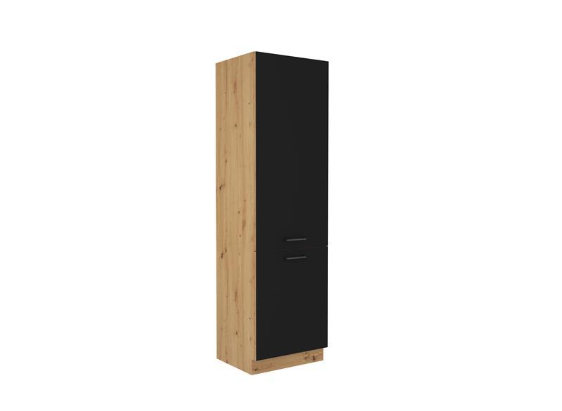 Skříň pro lednici Moderna 20 (60 cm) černý mat
