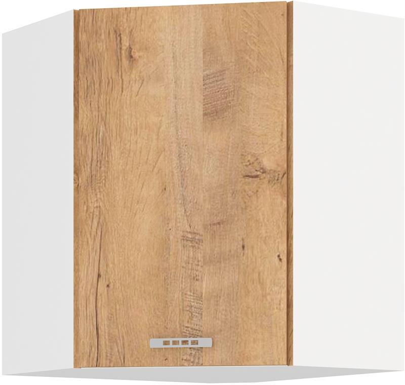 Horní rohová skříňka Šárka 16 ( 58/58 cm )
