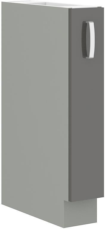 Dolní skříňka Gary 34 bez pracovní desky (15 cm) výsuvná