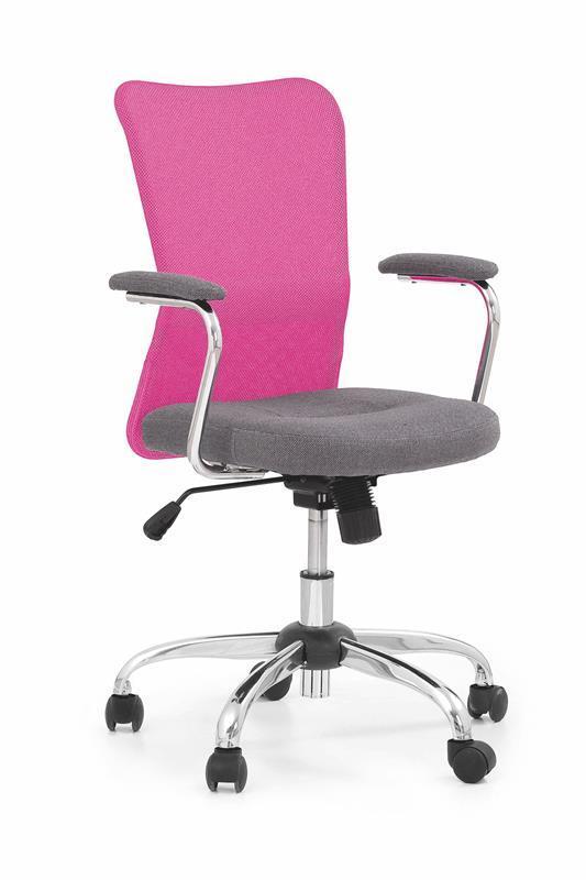 Dětská židle Andy - růžová