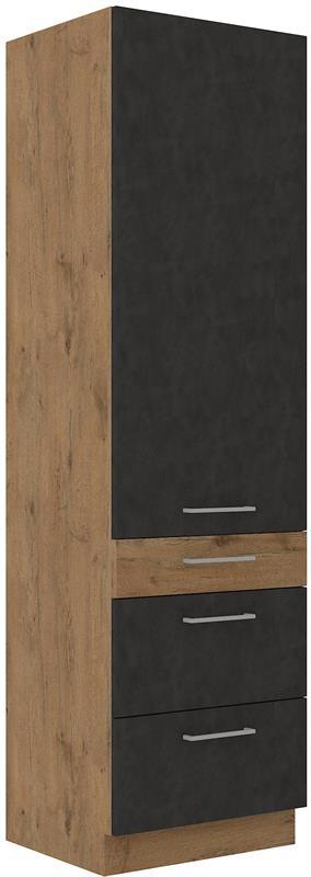 Skříň Viktorie grafit mat 39 (60 cm)