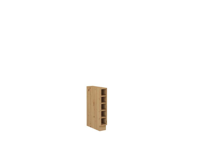 Dolní otevřená skříňka Moderna 31 (15 cm)