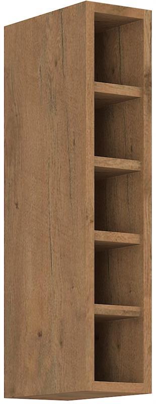 Horní otevřená skříňka Viktorie 28 (15 cm)