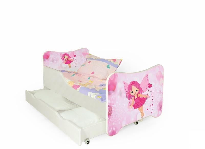 Dětská postel Víla včetně matrace