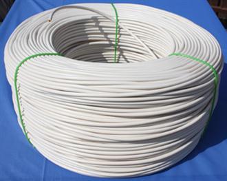 Bužírky PVC izolační a ochranné, tvrdost 80 ShA