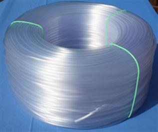PVC bužírka transparentní skelně čirá