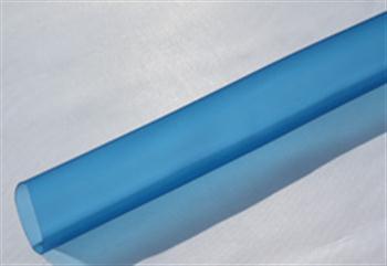 Bužírky PVC transparentní modře tónované