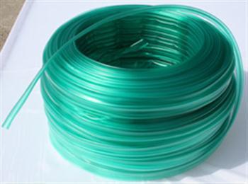 PVC bužírka transparentní tónovaná zeleně