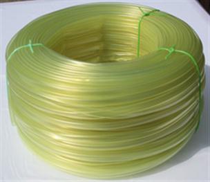 PVC bužírka transparentní tónovaná žlutě