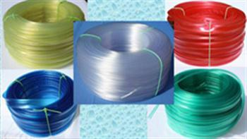 Bužírky PVC transparentní izolační a ochranné, tvrdost 85 ShA