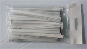 Klipovací páska 8 mm v malám balení 100 ks bílá