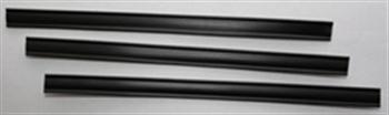 Klipovací pásek s dráty černý
