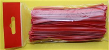 Klipovací páska 8 mm v malám balení 100 ks červená