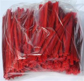 Klipovací páska 8 mm ve velkém balení 1000 ks červená