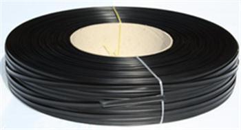 Klipovací páska 8 mm v kotouči 600 m černá