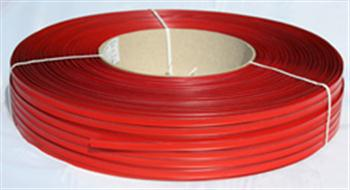 Klipovací páska 8 mm v kotouči 600 m červená