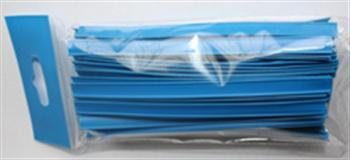 Klipovací páska 8 mm v malám balení 100 ks modrá