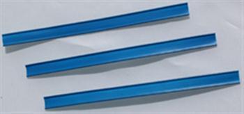 Klipovací páska s drátem modrá