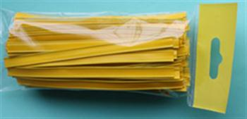 Klipovací páska 8 mm v malám balení 100 ks žlutá