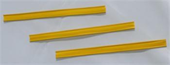 Klipovací pásek s dráty žlutý