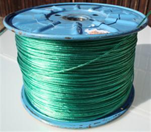 Šňůra na prádlo s ocelovým lankem EXTRA 3,5 mm  dlouhometrážní návin na cívce