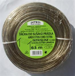 Vysokopevnostní šňůra do sušáku s ocelovým lankem 3,5 mm EXTRA