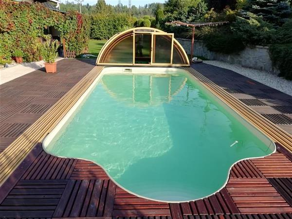 Plastový bazén, písková barva | Olbest s.r.o.