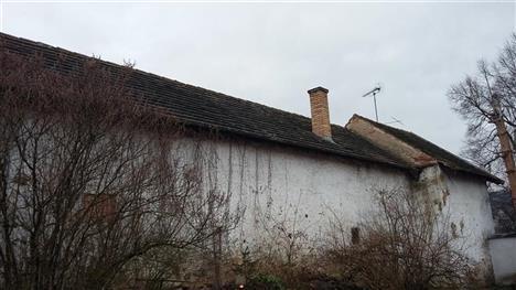 rekonstrukce střechy - před rekonstrukcí